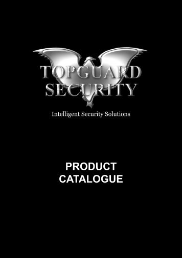 PRODUCT CATALOGUE - Topguard Security