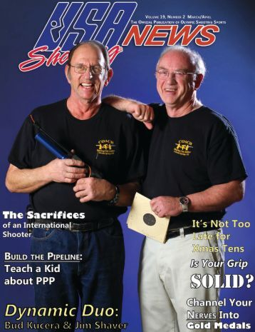 March/April 2011: Volume 19, Number 2 - USA Shooting