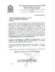 009 - Universidad Autónoma de San Luis  Potosí
