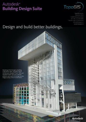 Building Design Suite - TopoGIS doo