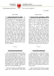 Ausschussbericht - Südtiroler Landtag