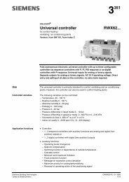 POLYGYR universal controllers RWX62