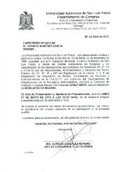 006 - Universidad Autónoma de San Luis  Potosí