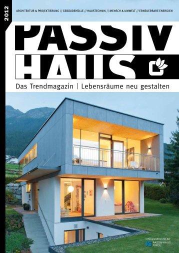 2012 - IG Passivhaus Tirol