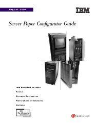 Server Paper Configurator Guide - IBM Quicklinks