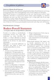 Baden-Powell Stammen - Sct. Georgs Gilderne i Danmark