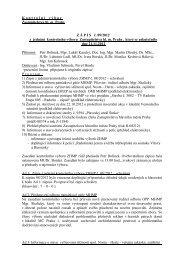 Zápis z 9. jednání Kontrolního výboru ZHMP, ze dne ... - Praha.eu