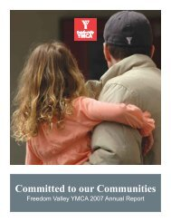 Committed to our Communities - Philadelphia Freedom Valley YMCA