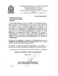 030 - Universidad Autónoma de San Luis  Potosí