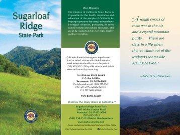 Sugarloaf Ridge State Park: Brochure - California State Parks