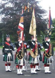 Journal 2008 - The Journal Royal Highland Fusiliers - The Royal ...