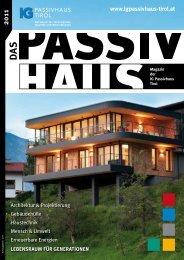 Passivhaus - IG Passivhaus Tirol