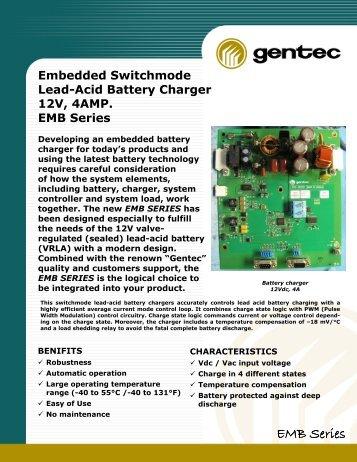 Brochure EMB series - Gentec