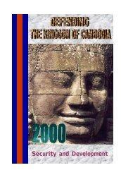 Defending the Kingdom of Cambodia 2000 - ASEAN Regional Forum