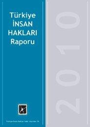 Türkiye İNSAN HAKLARI Raporu - Türkiye İnsan Hakları Vakfı