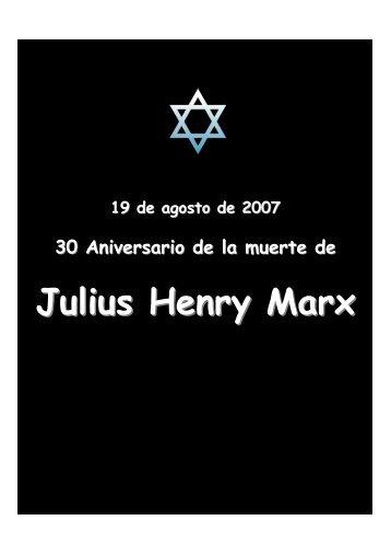 Julius Henry Marx - Cap-C