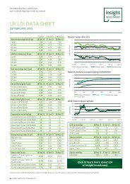 UK LDI DATA SHEET - Insight Investment
