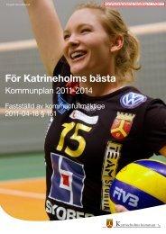 Kommunplan 2011-2014 - Katrineholms kommun
