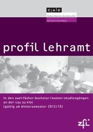 01-Modulhandbuch-Profil Lehramt-WiSe12-13 - Über das ZfL ...