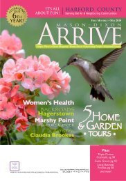 May 2010 Harford County - Mason Dixon Arrive Magazine