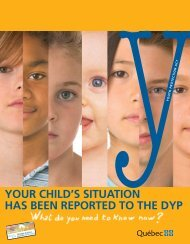 Your child's situation has been reported to the DYP What do you ...