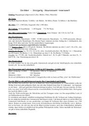 Warum die Bibel einzigartig ist.pdf - Helmutblatt.de