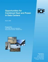 Opportunities for Combined Heat and Power in Data Centers - EERE