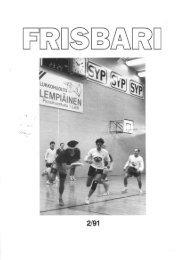Frisbari 2/1991 - Ultimate.fi