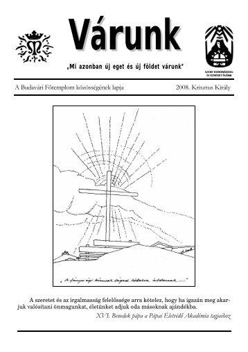Krisztus Király (PDF - 537 KB) - Mátyás-templom