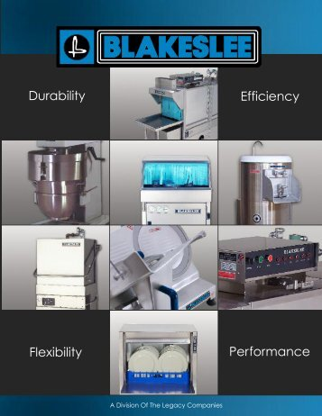 Blakeslee catalog - Greenfield World Trade