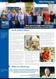 Fruits of their labour What our clients say - Company Home Page