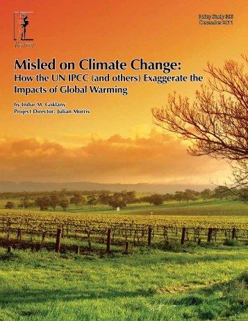 Misled on Climate Change - Reason Foundation