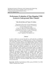 Performance Evaluation of Time Hopping UWB ... - Ripublication.com