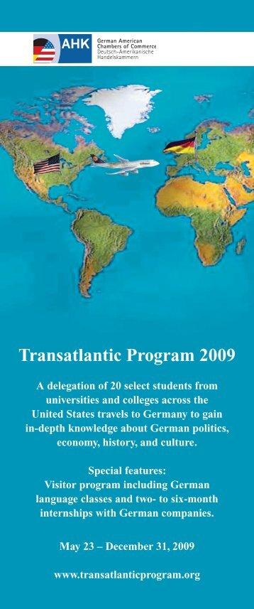 Transatlantic Program 2009