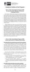 Transatlantic Program 2009 - Page 5