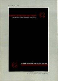 1992 No. 1 Vol 8.pdf - SAJCC Archive Browser - Southern African ...