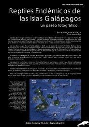 Boletin Biologica 25 (Galapagos) 1.pmd - Boletín Biológica