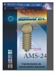 Transformatoare de masura curent exterioare tip AMS - Mondotrade