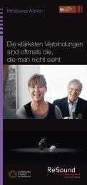 resound alera broschüre: pdf zum download - hoerstaette.de