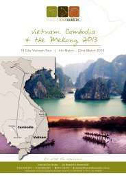 Vietnam, Cambodia & the Mekong 2013 - Travel & Tour Hunters