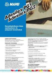 Adesilex PG1 Adesilex PG2 Adesilex PG1 Adesilex PG2 - Mapei