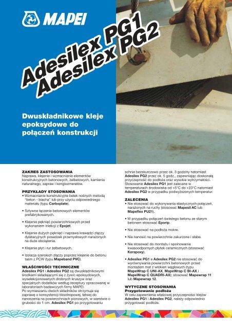 huge selection of 0932f dcab1 Adesilex PG1 Adesilex PG2 Adesilex PG1 Adesilex PG2 - Mapei