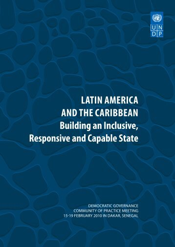 latin ameRica and the caRiBBean Building an inclusive, Responsive ...