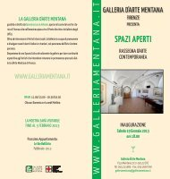 spazi-aperti-2013 (pdf) - Galleria d'Arte Mentana