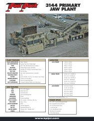 Spec Sheet - KPI-JCI