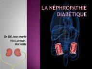 La néphropathie Diabétique