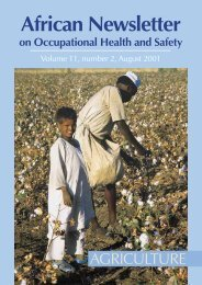 African Newsletter 2/2001 Agriculture