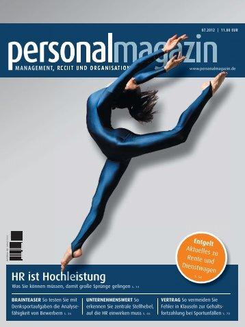 HR ist Hochleistung - Haufe.de