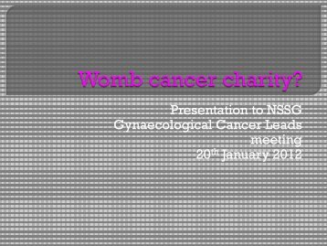 NSSG Leads Barts womb cancer charity Jane Lyons.pdf