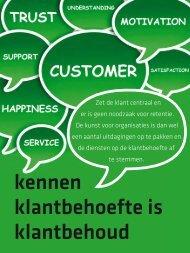 kennen klantbehoefte is klantbehoud - Callcenter Makelaar